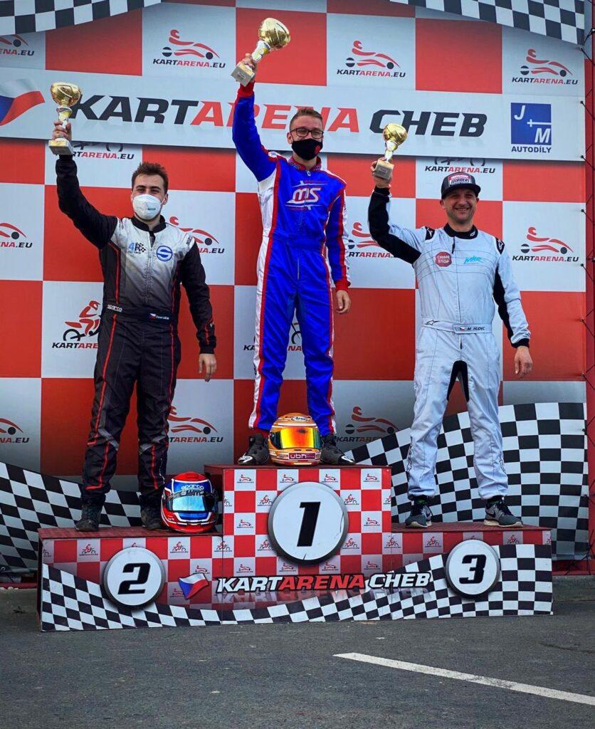 Vaclav Tomasek winner of Czech Kart Open Round 1