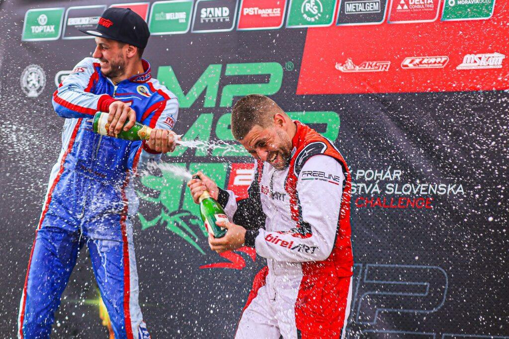 Successful race weekend in Vysoke Myto