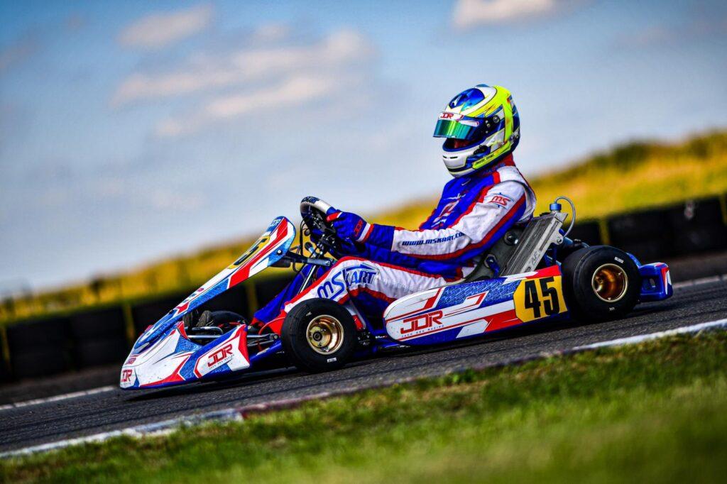 Jack Dex´s  first race in KZ at Super Prix