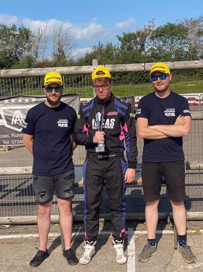 MS LUCAS wins at Llandow Double Header