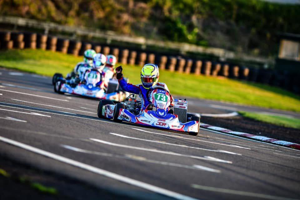 JDR & MS Kart on top at Shenington last weekend